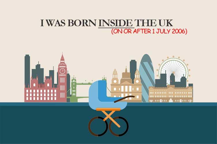born inside uk after 2006